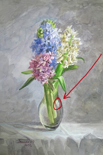 How To Paint The Glass Or How To Make A Vase Glass
