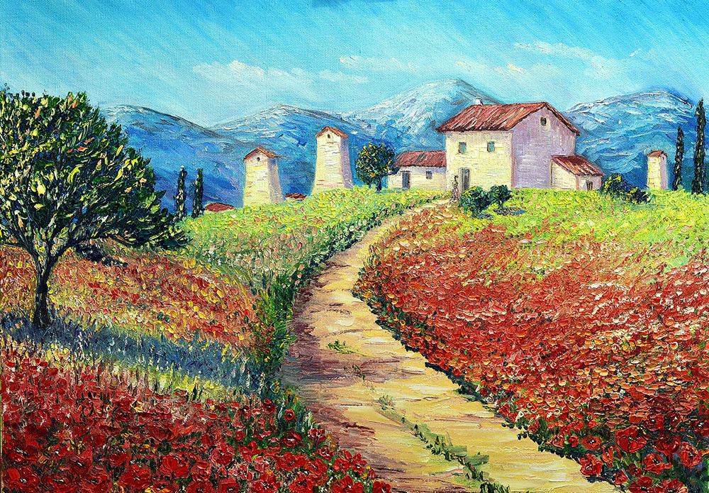 Beautiful Landscape Painting Pics - impremedia.net