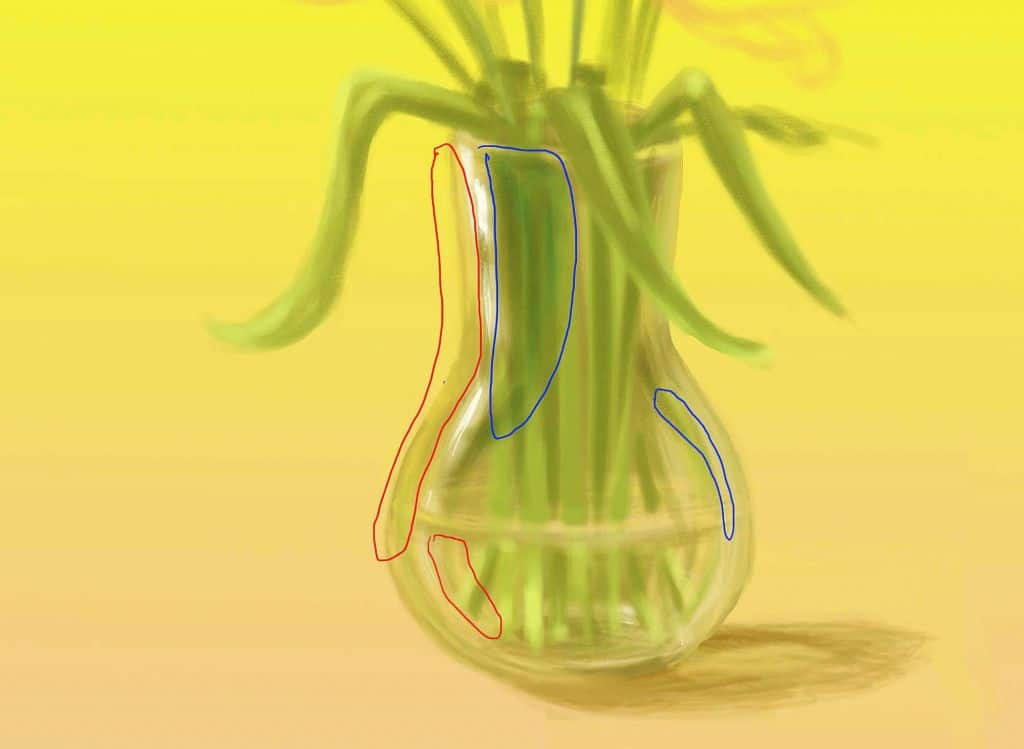 How to paint the glass or how to make a vase glass for Paint for glass surfaces