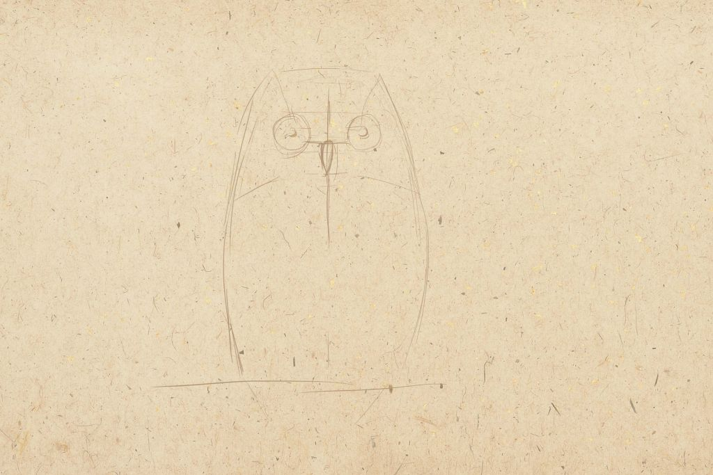 how to draw a birds, how to paint an owl, art lesson