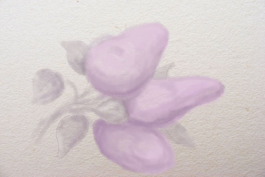 How to draw lilac, art lesson, how to draw flowers