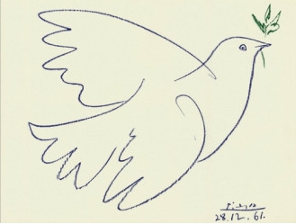 the dove, Pablo Picasso